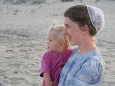 Mennonite momma with baby girl