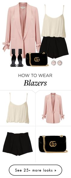 """""""Untitled #5073"""" by linda56draco on Polyvore featuring Miss Selfridge, Chloé, Nookie, Gucci, Rick Owens and Miu Miu"""