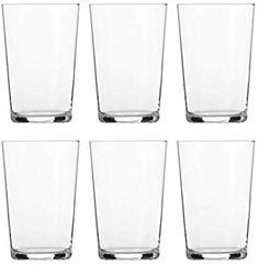 Schott Zwiesel Basic BAR Selection 6-teiliges Softdrinkglas Nr.2 Set Becher, Glas, transparent, 29.4 x 20.4 x 14.5 cm, 6-Einheiten: Amazon.de: Küche & Haushalt