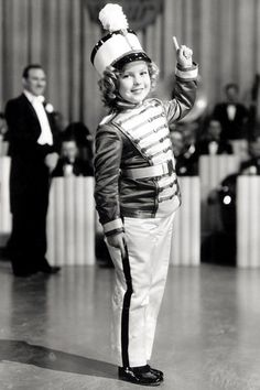 Shirley Temple's Life In Pictures - 1936 - Shirley Temple in 'Poor Little Rich Girl', during the period in which the child star was contracted to four films a year by her parents.