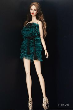 2015 August Fashion Look 4 Fashion Dolls, Fashion Outfits, Glam Doll, Barbie World, Barbie Barbie, Barbie Style, Chinese Clothing, Street Chic, Barbie Clothes
