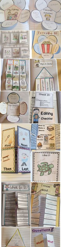 First Grade Writing Notebook Projects. This notebook is jam-packed with writing . 1st Grade Writing, Writing Classes, First Grade Reading, Writing Lessons, Writing Workshop, Teaching Writing, Writing Skills, Writing Activities, Classroom Activities