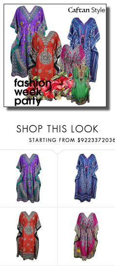 """Women Kimono Caftans/ Kaftan Dress"" by lavanyas-trendzs ❤ liked on Polyvore"