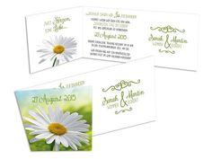 Hochzeitseinladungskarten+-+Er+liebt+mich... Romantic Wedding Invitations, Invitation Text, Card Wedding, Creative