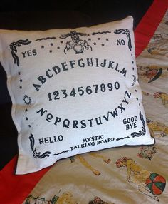 Ouija Board Hand Embroidery Sampler 2 x by EmmaDilemmasShop