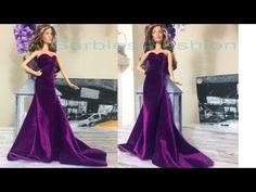 How to Make Barbie Doll Clothes 👗😙 DIY Barbie Clothes Life Hacks 🤗 Barbie Tutorial Sewing Barbie Clothes, Barbie Sewing Patterns, Crochet Doll Clothes, Doll Clothes Patterns, Diy Clothes, Barbie Et Ken, Barbie Dolls Diy, Barbie Gowns, Barbie Dress