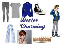 """""""Dexter Charming Closet Cosplay"""" by thecrystalheart on Polyvore featuring Acne Studios, Alexander McQueen, MiH Jeans, Converse, Paul Smith, WigYouUp and Azhar"""