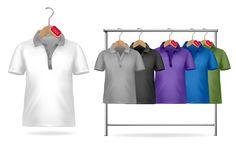 free vector Shortsleeve tshirt template 01 vector