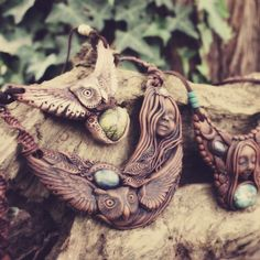 Owl Spirit. Beautiful Necklaces for the wild spirited.
