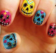 Dia de los muertos nails cosas que adoro pinterest nails and dia de los muertos nails cosas que adoro pinterest nails and dia de prinsesfo Images