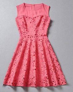 Nice lace dress.