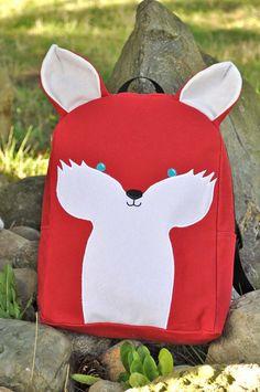 http://airlinepedia.net/cute-luggage.html Cute school bags. cute backpack      #Fox #Backpack #Cute