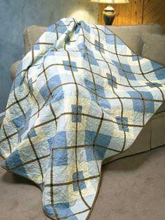Argyle pattern quilt. http://bellarosequilts.danemcoweb.com/shop/product/blue-argyle-quilt-pattern-bonnie-sullivan/