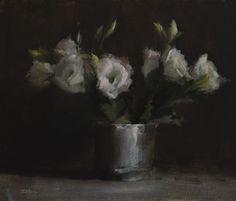 "Daily Paintworks - ""Lisianthus"" - Original Fine Art for Sale - © Neil Carroll"