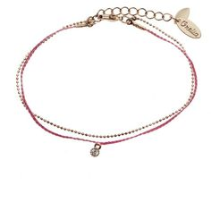 Crystal Drop Friendship Bracelet - Bracelets - Jewellery   Beautiful Costume Jewellery from Orelia