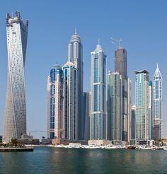 Dubai...groovy architectural buildings
