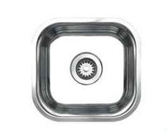 Whitehaus WHNU1212 12 Inch Noahs Collection Single Bowl Undermount Sink $162.56