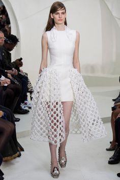 Wilhelmina Models: Carolina Sjostrand for Christian Dior, Couture S/S '14 - See more at: wilhelminanews.com