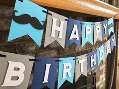 Excited to share this item from my #etsy shop: Mustache Banner - Little Man Happy Birthday Theme - Mustache Party - Lil Man Photo Prop #mustachebanner #littlemantheme #firstbirthday Happy Birthday Name, Mustache Birthday, Little Man Birthday, Happy Birthday Photos, Mustache Party, Baby Boy Birthday, 1st Birthday Parties, Birthday Ideas, Diy Party Games