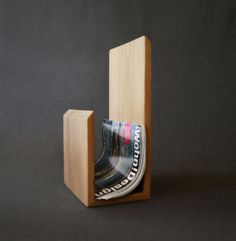 Recycled Timber Magazine Rack. Made to Order. by LoveHardwood on Etsy