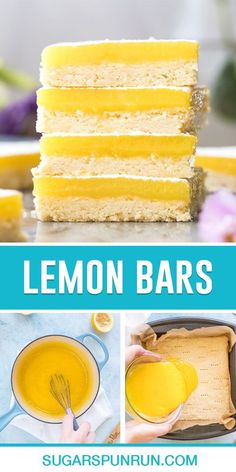 The best Lemon bars (lemon squares) recipe! They have a crisp, buttery crust (guaranteed to not be soggy!) and a tart lemon curd topping. Recipe includes a how-to video!