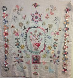 Lisa baby quilt-Precious Time