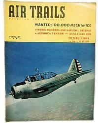 Air Trails February 1942