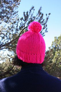 Sarah is a super-fast to knit hat that only takes 1 skein of super bulky.IsaacMiz.Lexington yarn projects show this