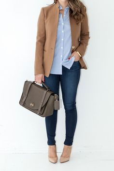 Casual blazers styling ideas http://www.justtrendygirls.com/casual-blazers-styling-ideas/