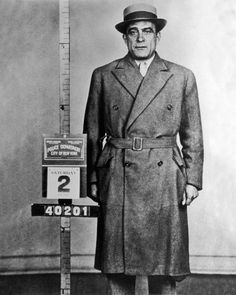 1955 Gangster Mobster Vito Genovese Glossy 8x10 Photo Criminal Print MUGSHOT | eBay