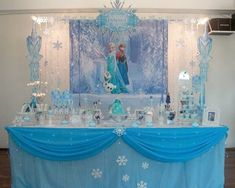 Fiesta temática infantil de Frozen – Ideas para Decoracion