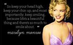 Marilyn Monroe Quote About Life Ideas beautiful life marilyn monroe quote smile inspiring Marilyn Monroe Quote About Life. Here is Marilyn Monroe Quote About Life Ideas for you. Marilyn Monroe Quote About Life marilyn monroe respect quotes . Marilyn Monroe Quotes, Marylin Monroe, Great Quotes, Quotes To Live By, Inspirational Quotes, Fantastic Quotes, Unique Quotes, Motivational Sayings, Awesome Quotes