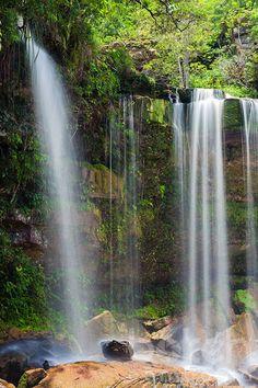 Popokvil falls in Bokor National Park | Kampot Province, Cambodia