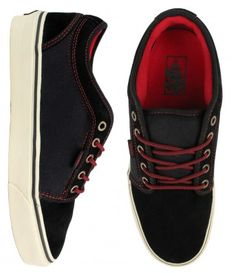 bb5add19bf Vans Chukka Low Skate Shoes - Black Khaki   55.00