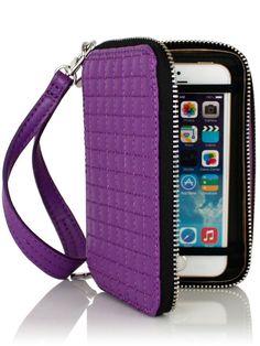 Tate Tech Wallet Purple Stuff, Purple Bags, Iphone 5 6, Shades Of Purple, Tech, Wallet, Purple, Technology, Purses