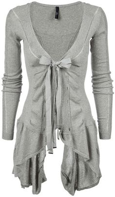 Chapter Ribbed Asymmetric Hem Cotton Cardigan @Lyst