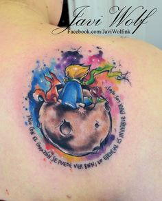 Javi Wolf Ink | based on The Little Prince