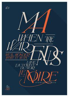 Hyperfuente - Wanka on Typography Served