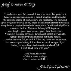 "18 Likes, 1 Comments - Julie Anne Addicott ~ Author (@demonsoulangelheart) on Instagram: ""#grief #pain #julieanneaddicott #quotes #writer #poet #poetry #poem #death #life #loss #author…"""