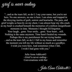 "18 Likes, 1 Comments - Julie Anne Addicott ~ Author (@demonsoulangelheart) on Instagram: ""#grief #pain #julieanneaddicott #quotes #writer #poet #poetry #poem #death #life #loss #author…"""