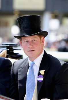 Royal Ascot 2014-Day 1, June 17, 2014-Prince Harry
