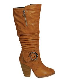 This Camel Choic Boot is perfect! #zulilyfinds