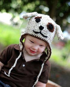 love the puppy cap