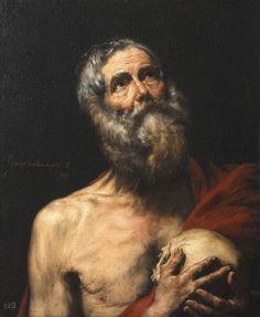 Jusepe de Ribera (1591-1652) - San Girolamo -1636 - Arp Museum Rolandseck Bahnhof (Germania), collezione Rau per l'UNICEF