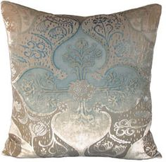 persian velvet pillow by kevin o'brien - decorative pillows