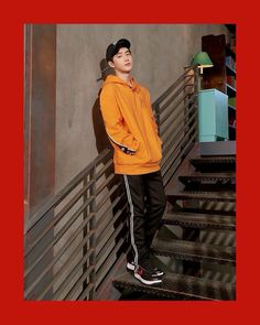 'MLB Korea' has dropped more athletic pictorial photos of EXO!They're dressed in the spring season's caps along with other sporty street fash… Suho Exo, Kim Joon Myeon, Kim Jong Dae, Wattpad, Kim Minseok, Exo Members, Spring Summer 2018, Boy Groups, Adidas Jacket
