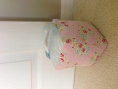 Flower fabric door stop