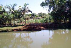 Rio Alegria, principal manancial de abastecimento de água na cidade em Medianeira. 08.03.12limpezarioalegriadepois.jpg (1320×889)