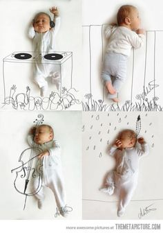 Love this! Next baby I'm doing this for sure!