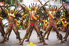 Ati-Atihan Festival in Kalibo Aklan, Philippines held every third sunday of January